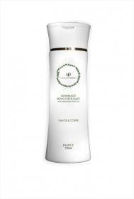 Illustration Gommage - soin exfoliant