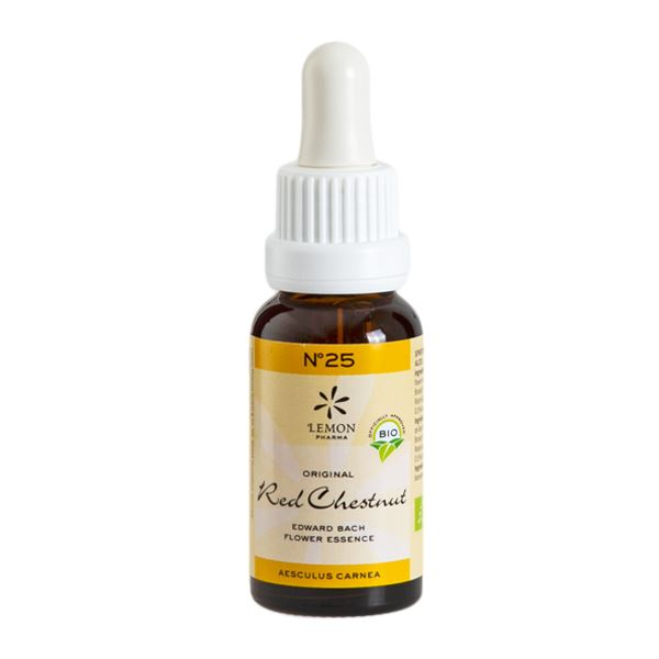 Lemon Pharma France - Elixir N°25 Red Chestnut