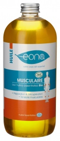 Illustration EONA - Huile de massage Bio Musculaire - Flacon de 500ml