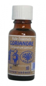 Illustration H.E - Coriandre - Coriandrum sativum - 20 ml