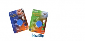 Illustration Diffuseur nasal  aux huiles essentielles inhal clip  rhume - oscimed