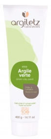 Illustration Tube d'argile verte - 400 g