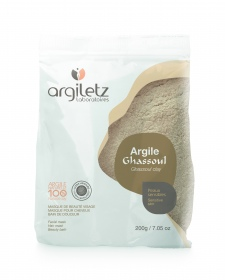 Illustration Argile Ghassoul ultra-ventilée - sachet de 200 g