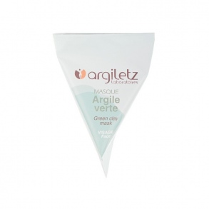 Illustration BERLINGOT UNIDOSE MASQUE ARGILE VERTE 15 ML – PEAUX GRASSES