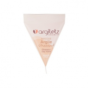 Illustration BERLINGOT UNIDOSE MASQUE ARGILE GHASSOUL 15 ML