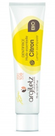 Argiletz - Dentifrice citron bio - 75ml
