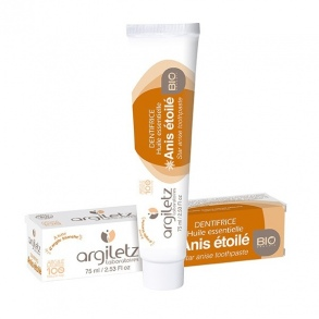 Illustration DENTIFRICE BIO ANIS ETOILÉE – 75 ML