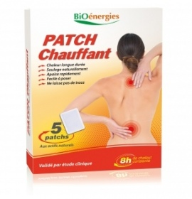 BioEnergies - PATCH CHAUFFANT - 5 patchs