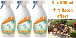Illustration Insecticide PACK 3+ 1 Solution Ecran ANTI MOUSTIQUES (TIGRES)