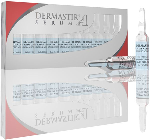 Illustration DERMASTIR® Ampoules Acide Glycolique