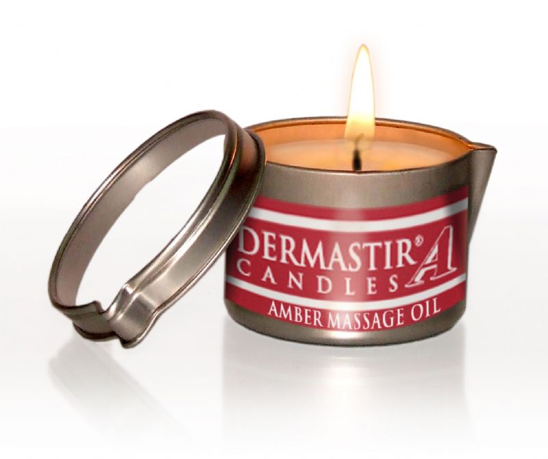 Illustration DERMASTIR® Bougie de Massage - Ambre