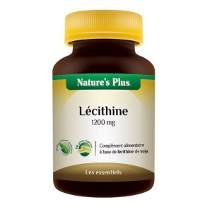 Nature's Plus - Lecithine de soja 1200mg