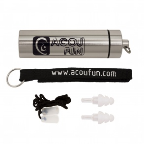 Acoufun - Protections auditives - ACOUFUN MUSIC - Fidelity ER20