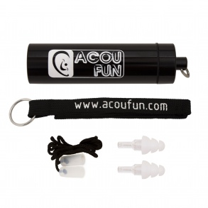 Acoufun - Protections auditives - ACOUFUN MUSIC - Fidelity ER20 Black Metal Edition