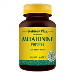 Illustration Mélatonine - 30 pastilles sécables