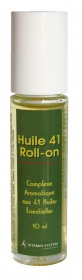 Vitamin System -  ROLL-ON HUILE 41 – 41 huiles essentielles HEBBD – 10 ml