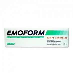 Emoform - Dentifrice Dents sensibles - 75ml