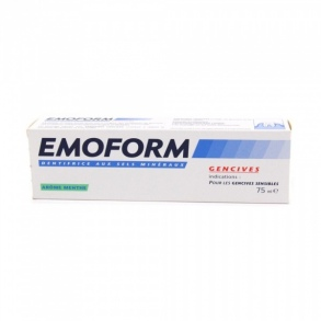 Emoform - Dentifrice Dents sensibles Menthe - 75ml