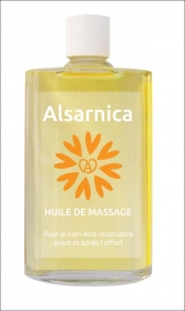 Illustration ALSARNICA  HUILE DE MASSAGE