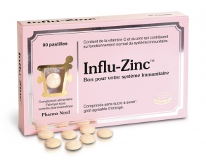 Illustration Influ-Zinc 90 pastilles