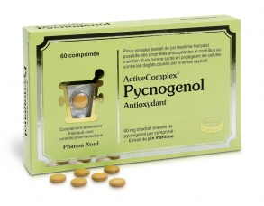Illustration ActiveComplex Pycnogenol 60 comprimés