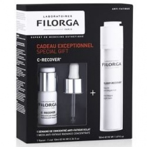 Filorga - Coffret Anti-Fatigue - baume de nuit 50ml + concentré anti-fatigue 10ml