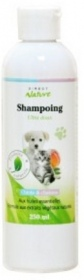 Illustration Shampoing pour chiots et chatons