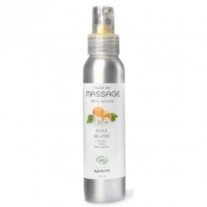 Illustration Huile de massage neutre BIO - 500 ml*