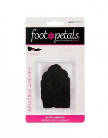 Foot Petals - AMAZING ARCHES noir