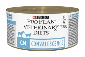 Illustration Veterinary Diets Convalescence Chat Chien 24 boîtes x 195 g chat