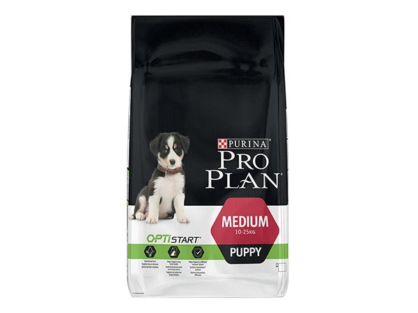 Illustration Pro Plan Dog Medium Puppy 12 kg Croquettes chiot OPTISTART