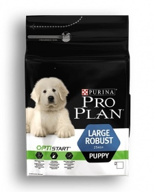 Illustration Pro Plan Dog Large Robust Puppy 3 kg Croquettes chien OPTISTART