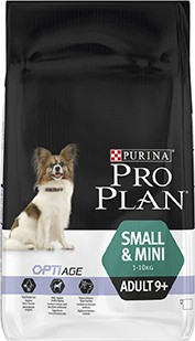 Illustration Pro Plan Dog Small & Mini Adult 9+ 7 kg Croquettes chien OPTIAGE