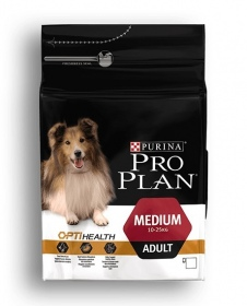 Illustration Pro Plan Dog Medium 7 kg Croquettes chien OPTIHEALTH