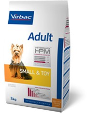 Illustration Virbac Veterinary HPM Adult Small & Toy Dog - Pour petit chien - Sac 7 kg