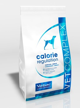 Illustration Virbac Vetcomplex Calorie Regulation Adult Dog - Pour chien adulte obèse - Sac 13.5 kg