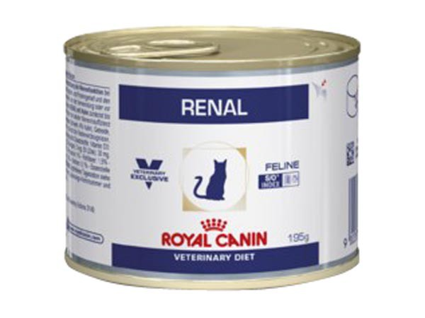 Royal Canin - Aliment humide Royal Canin Veterinary Diet Cat Renal Poulet 12 x 195 g pour chat