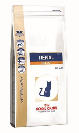 Royal Canin - Croquettes Royal Canin Veterinary Diet Cat Renal Select 500 g pour chat