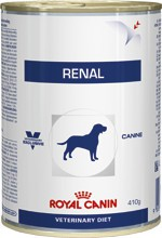 Illustration Aliment humide Royal Canin Veterinary Diet Dog Renal 12 x 410 g pour chien