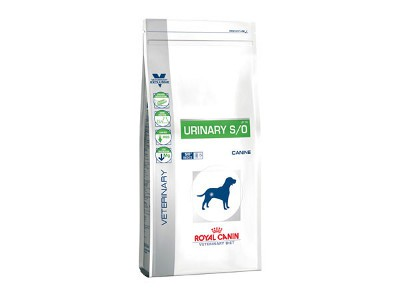 Illustration Croquettes Royal Canin Veterinary Diet Dog Urinary LP18 sac 7.5 kg pour chien
