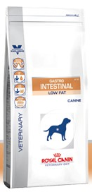 Illustration Croquettes Royal Canin Veterinary Diet Dog Gastro Intestinal Low Fat LF22 sac 6 kg pour chien