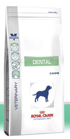 Illustration Croquettes Royal Canin Veterinary Diet Dog Dental DLK22 sac 14 kg pour chien