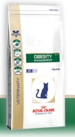 Illustration Croquettes Royal Canin Veterinary Diet Cat Obesity DP42 sac 400 g pour chat