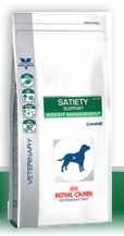 Illustration Croquettes Royal Canin Veterinary Diet Dog Satiety Support SAT30 sac 1.5 kg pour chien