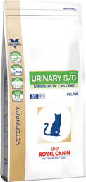 Royal Canin - Croquettes Royal Canin Veterinary Diet Cat Urinary Moderate Calorie UMC34 sac 9 kg pour chat