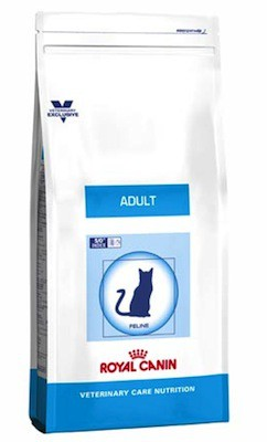 Illustration Croquettes Royal Canin Vet Care Nutrition Cat Adult sac 8 kg pour chat