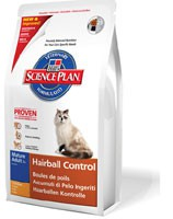 Hill's Pet Nutrition - Science Plan Feline Mature Adult Hairball Control Poulet 1,5 kg Croquettes chat