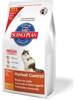 Hill's Pet Nutrition - Science Plan Feline Adult Hairball Control Poulet 1,5 kg Croquettes chat