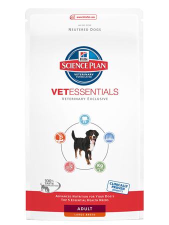 Illustration Science Plan VetEssentials Canine Adult Large 13 kg Croquettes chien