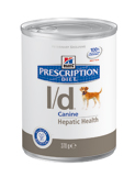 Illustration Prescription Diet Canine L/D 12 boîtes x 370 g chien